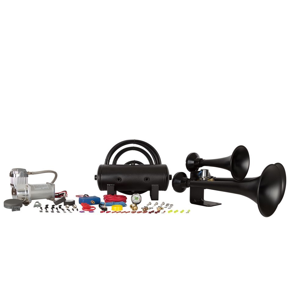 Best train horns unbiased reviews outlaw hk c3b 232 best train horn kit for pickup trucks without a cab or truck box publicscrutiny Choice Image