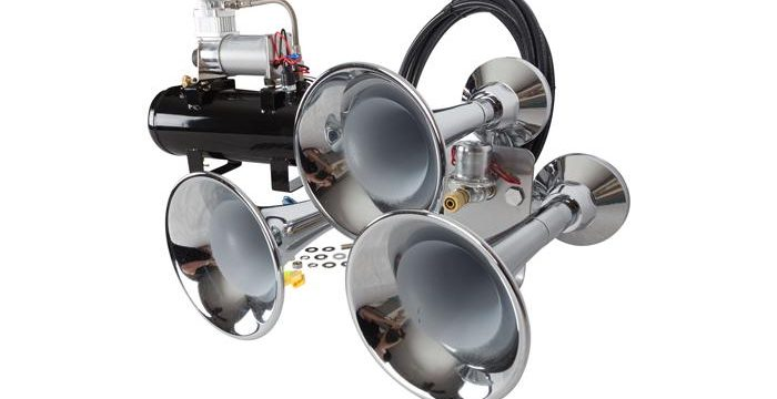 Extremely Loud Train Horns